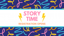 Story Time Registration Opens